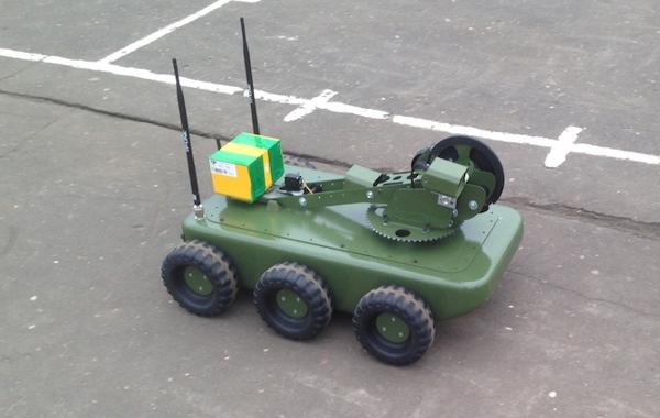 Первый прототип на демонстрации в МО