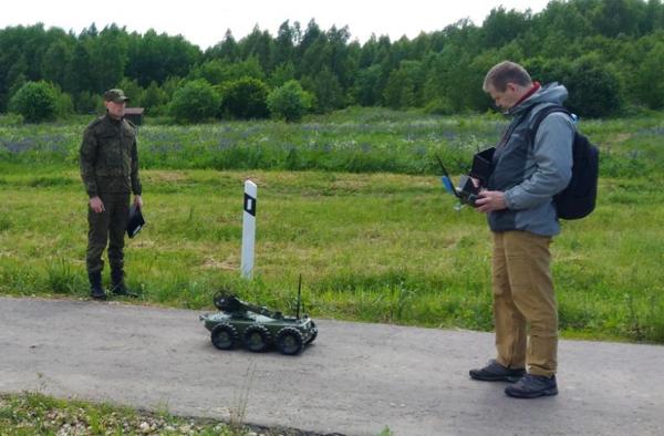 испытаний на роботодроме ГНИИЦ РТ МО РФ на базе ФКП НИИ «Геодезия» г. Красноармейск